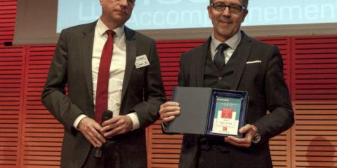 Ethique et Santé obtient le prix du meilleur réseau de 30 à 100 points de vente.