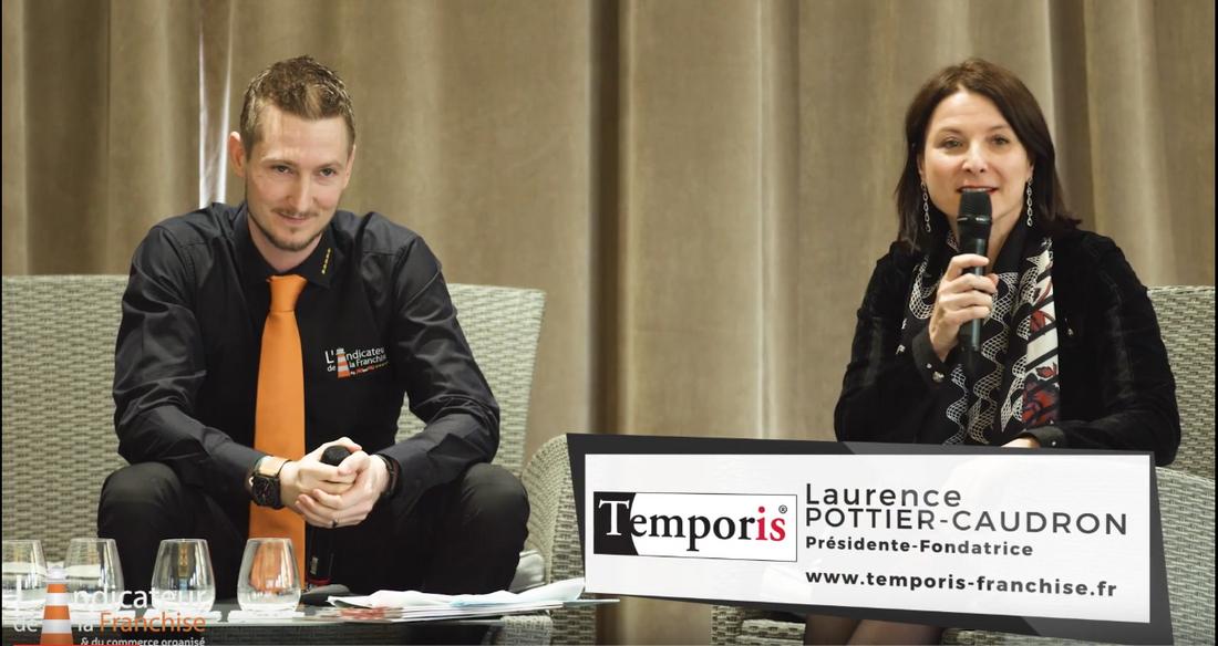Intervention de la fondatrice de Temporis au Colloque L'Indicateur de la Franchise - Caisse d'Epargne