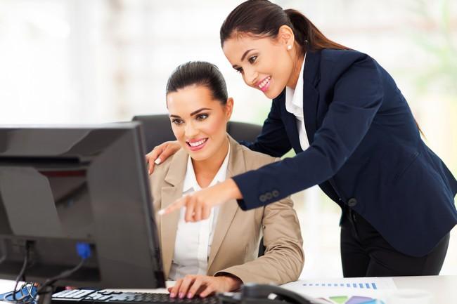 Les femmes visible dans le secteur de la franchise
