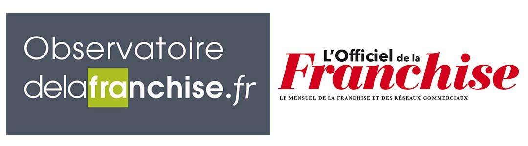Logo l'Observatoire de la Franchise & L'Officiel de la Franchise